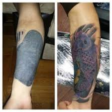 tattoo camo before and after black heart tattoos tattooing colour over black tattoos bme