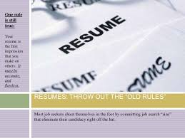 Resumes Of Job Seekers by Resumes Handbills And Interviewing Adapting To The