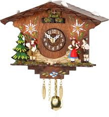 cuckoo clock kuckulino quartz movement black forest pendulum clock