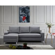 Left Sided Sectional Sofa Us Pride Furniture Hton Left Side Facing Linen Sectional Sofa