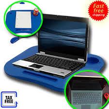 Laptop Desk With Led Light Laptop Desk Cup Holder Desk Led Light Bed Tray Foam Cushion