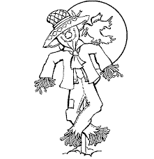 scarcrow color sheet free printable scarecrow coloring pages for