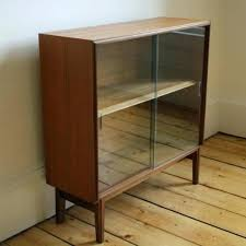 Bookcase With Glass Door Glass Doored Bookcase Office With Glass Desk And Modern Chair Also