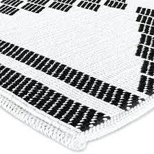 Stylish Bathroom Rugs Black And White Bath Rug Sloanesboutique