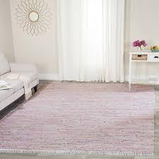 light pink wool rug amazon com safavieh rag rug collection rar125e hand woven light