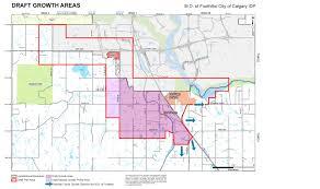 Calgary Map Draft Growth Plan Concerns Residents Local News Okotoks
