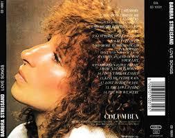 cd album barbra streisand songs columbia uk
