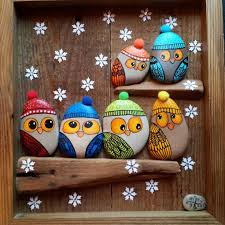 Garden Stone Craft - best 25 owl rocks ideas on pinterest pet rocks stone painting