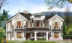 colonial style home design in kerala ideasidea