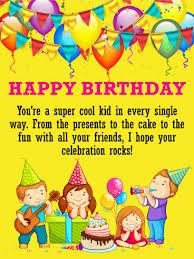 birthday cards for kids birthday u0026 greeting cards by davia