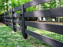 Backyard Fences Ideas by Best 25 Black Fence Ideas On Pinterest Black Fence Paint Fence