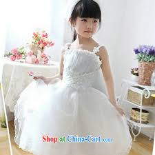 a flower dress kids princess dress girls birthday dresses