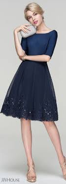cocktail dresses for wedding jjshouse cocktail tulle skirt with sequins my