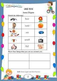 worksheet for ukg evs worksheets aquatechnics biz