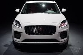 jaguar grill jaguar reveals e pace the crossover suv for millennial couples