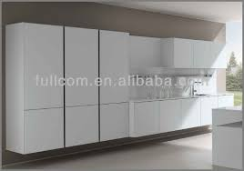 High Gloss Paint For Kitchen Cabinets Mdf Painted High Gloss Slab Kitchen Cabinet Doors Buy Pvc