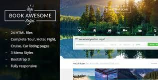 top 9 hotel u0026 travel booking site templates indiamarks