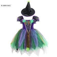 witch dresses for halloween online get cheap kids witch costume aliexpress com alibaba group