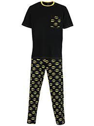 batman mens batman pajamas clothing