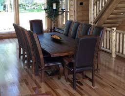 black rustic dining table wood kitchen table with bench seating pricechex info