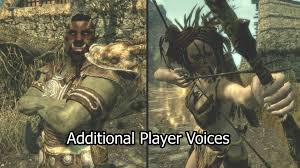 orc male forsworn female additional player voices