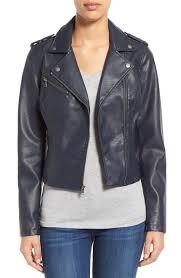 motocross leather jacket levi u0027s faux leather moto jacket nordstrom