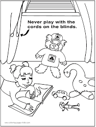 health and safety color pages coloring pages for kids
