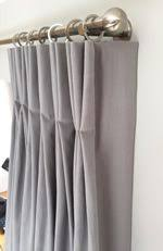 How To Measure For Pinch Pleat Drapes How To Make A Triple Pleat Curtain Tutorial By Sew Helpful