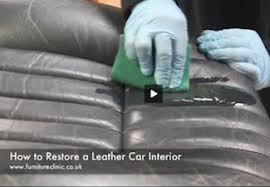 Leather Sofa Refinishing How To Restore Leather Couch Seats Restoring Leather Furniture