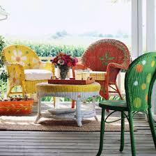 25 unique painted patio furniture ideas on pinterest cable