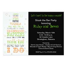 stock the bar shower stock the bar invitations announcements zazzle