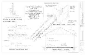 free sample barn plan download g339 52 u0027 x 38 u0027 barn plan