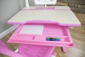 Adjustable Height Work Desk by Desk V402pvivo Deluxe Height Adjustable Children U0027s Desk U0026amp