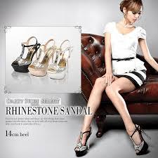 dazzy store louise bq rakuten global market sparkling sandals cavalier