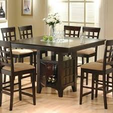 Black Counter Height Kitchen  Dining Tables Youll Love Wayfair - Dining room table height