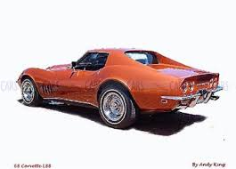 1968 l88 corvette 1968 chevrolet corvette l88 painting