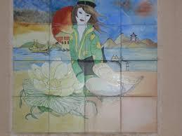 fresque carrelage mural fresque murale table de jardin album photos valse à 3 temps