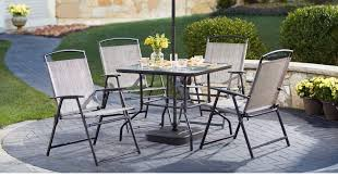 Homedepot Outdoor Furniture by Home Depot 7 Piece Patio Dining Set Only 99 Includes 4 Chairs
