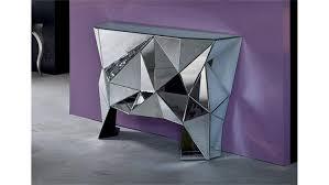 Designer Couchtisch Glas Prisma Prisma Komplett Verspiegelt Kare Design