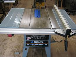 Contractor Table Saw Reviews Delta 10
