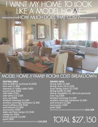 great how much does an interior decorator cost featured model home