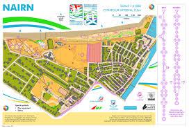 Coverage Map Sprint Sprint Relay U2013 Nairn Woc 2015