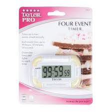 taylor 5862 digital 4 channel pocket kitchen timer image preview