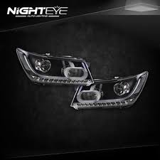 mercedes headlights at night nighteye auto lighting automotive led headlight conversion kit