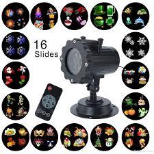solar christmas light projector led christmas light projector 16 patterns waterproof landscape