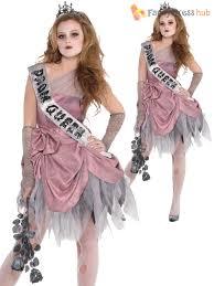 girls zombie prom queen costume teen halloween fancy dress kids
