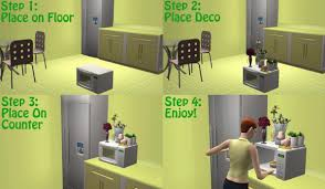 the sims 2 kitchen and bath interior design mod the sims slots for all maxis microwaves and toaster ovens