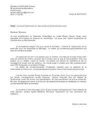 dispense pdf lettre de motivation lettre de motivation pdf fichier pdf