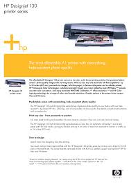 download free pdf for hp designjet 130nr printer manual