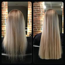 Before After Hair Extensions by Shrink Links Hair Extensions One Stylists Quest To Spread The